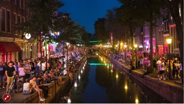 Red Light District Amsteerdam